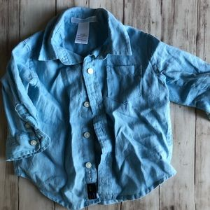 3-6 month Janie and Jack button down shirt
